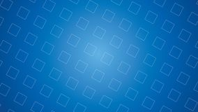 Geometrisk abstrakt bakgrundsvektor för blå futuristisk fyrkant royaltyfri fotografi