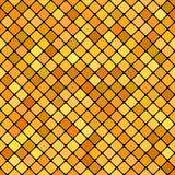 Geometrisk abstrakt diagonalfyrkantmodell - diagram för vektormosaikbakgrund Arkivfoton