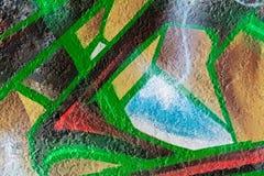 Geometrisk abstrakt målningmodell vektor illustrationer