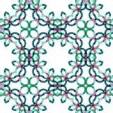 Geometrisk abstrakt modell för sömlös vektor Royaltyfria Foton