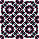 Geometrisk abstrakt modell för sömlös vektor Royaltyfri Foto
