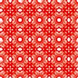 Geometrisk abstrakt modell för sömlös vektor Arkivfoton
