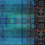 Geometrisk abstrakt sjaskig kulör bakgrund Royaltyfria Foton