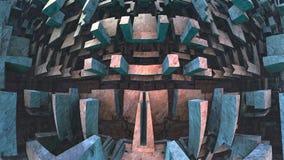 geometrisk bakgrund 3d Arkivfoton