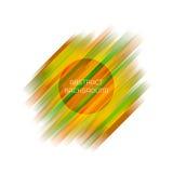 Geometrisk bakgrund för abstrakt band för din design vektor illustrationer