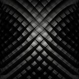 Geometrisk bakgrund för abstrakt svartvit vektor Arkivbilder
