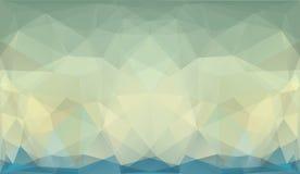 Geometrisk bakgrund för abstrakt triangel Arkivbild