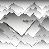 Geometrisk bakgrund för abstrakt vektor av ljus färg i form av fyrkanter och rektanglar Arkivbilder