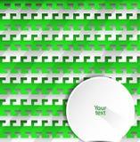 Geometrisk bakgrund för abstrakt vektor från krokar Fotografering för Bildbyråer