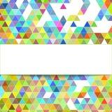 Geometrisk bakgrund för design Stock Illustrationer