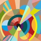 Geometrisk bakgrund för sömlös vektor Royaltyfri Fotografi