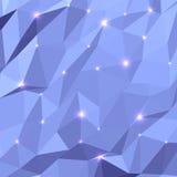 Geometrisk bakgrund för triangel Royaltyfri Bild