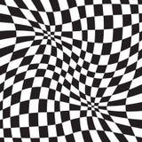 Geometrisk bakgrund för optisk illusion Royaltyfri Foto