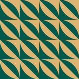 Geometrisk bakgrund i Art Deco stil 2 stock illustrationer