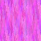 Geometrisk bakgrund i skuggor av lilan Royaltyfri Bild