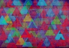 Geometrisk bakgrund med cirklar Royaltyfria Bilder