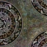 Geometrisk bakgrundsform, mörk färg Fotografering för Bildbyråer