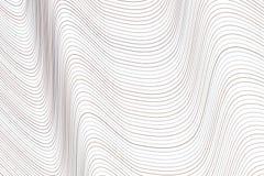 Geometrisk begreppsmässig bakgrundslinje, kurva & vågmodell för design Detaljer smutsigt, rengöringsduk & tapet vektor illustrationer
