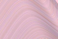 Geometrisk begreppsmässig bakgrundslinje, kurva & vågmodell för design Garnering, vektor, stil & textur royaltyfri illustrationer