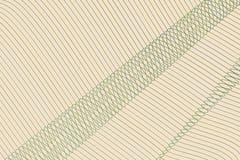 Geometrisk begreppsmässig bakgrundslinje, kurva & vågmodell för design Illustration, garnering, repetition & teckning vektor illustrationer