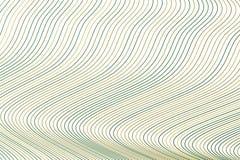 Geometrisk begreppsmässig bakgrundslinje, kurva & vågmodell för design Illustration, rengöringsduk, digitalt & vektor vektor illustrationer