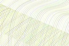 Geometrisk begreppsmässig bakgrundslinje, kurva & vågmodell för design Repetition teckning, grafiskt & digitalt vektor illustrationer