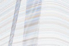 Geometrisk begreppsmässig bakgrundslinje, kurva & vågmodell för design Vektor, textur, smutsigt & stil royaltyfri illustrationer