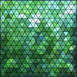 Geometrisk blåttmodell. Vektorillustration EPS 10 Arkivbilder