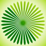 Geometrisk cirkelbeståndsdel av radiella linjer Bristning av linjer applicera Royaltyfria Bilder
