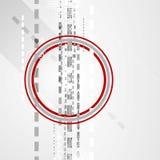 Geometrisk design för minsta techlägenhet Royaltyfri Foto