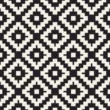 Geometrisk design för sömlös yttersida Upprepa tegelplattaprydnadbakgrund Vektorformmodell royaltyfria bilder