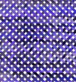 Geometrisk design för vattenfärg Royaltyfri Bild