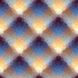 Geometrisk diagonal pläd Arkivbilder
