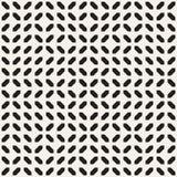 Geometrisk etnisk bakgrund med symmetriska linjer galler seamless vektor för abstrakt modell Arkivfoto