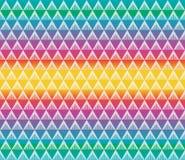 Geometrisk färgrik sömlös modellvektor Royaltyfria Foton