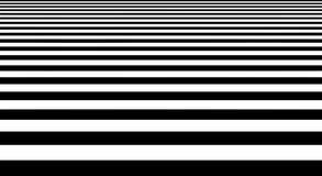 Geometrisk form för abstrakt svartvitt bandgolv Arkivbild
