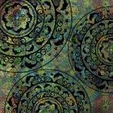 Geometrisk form för havslagbakgrund Royaltyfria Bilder