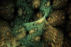 Geometrisk fractalform kan illustrera att dagdrömma för psykedeliska frekvens för explosion utrymmedrömmar för fantasi magisk vektor illustrationer