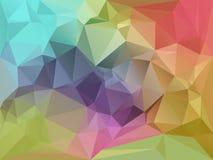 Geometrisk fragmentbakgrund Arkivbild