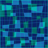 Geometrisk fyrkantbakgrund Arkivfoto