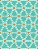Geometrisk gripa in i varandra gallertriangelmodell seamless vektor f?r bakgrund Utdragen grafisk damast illustration f?r hand ho vektor illustrationer