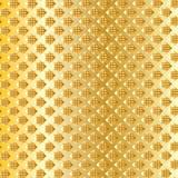 Geometrisk guld- kunglig modell Royaltyfri Foto