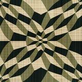 Geometrisk illusion Arkivfoto