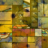 Geometrisk konst Arkivfoton