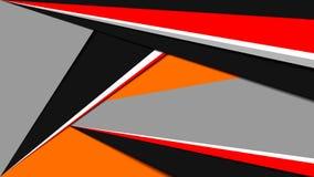 Geometrisk linjär bakgrund som göras i materiell designstil royaltyfri illustrationer