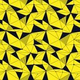 Geometrisk linje sömlös modell för hipster med triangeln, prick Reticulated abstrakt linjärt raster Retro scrapbook vektor royaltyfri illustrationer