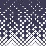 Geometrisk lutningmodell för rastrerad purpurfärgad diamant vektor illustrationer