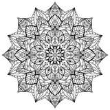 geometrisk mandala Arkivbild