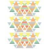 Geometrisk modell stock illustrationer