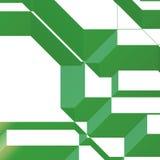 geometrisk modell 3d Arkivbild